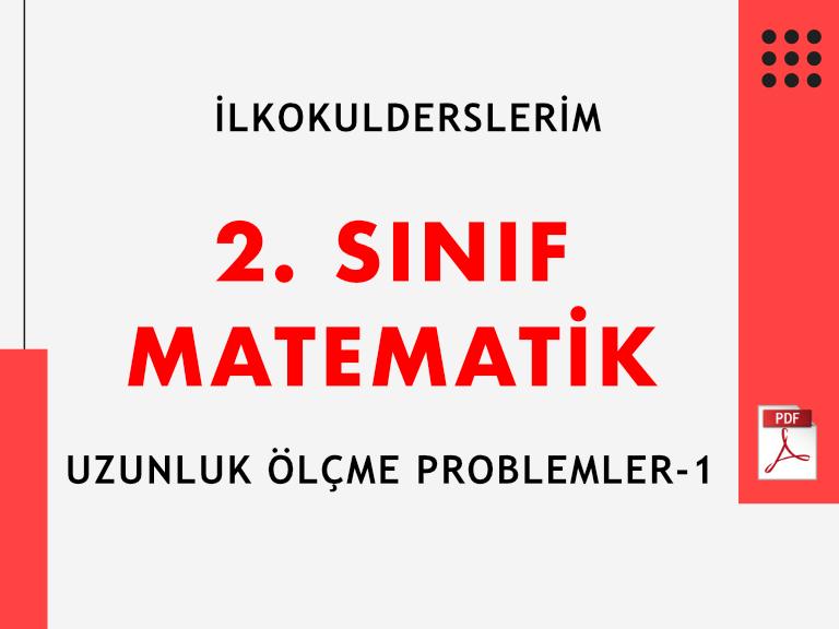 2. Sınıf Uzunluk Ölçme Problemler-1(PDF)