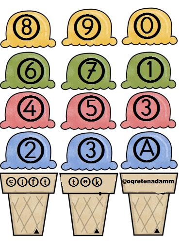 3. sınıf tek çift sayılar