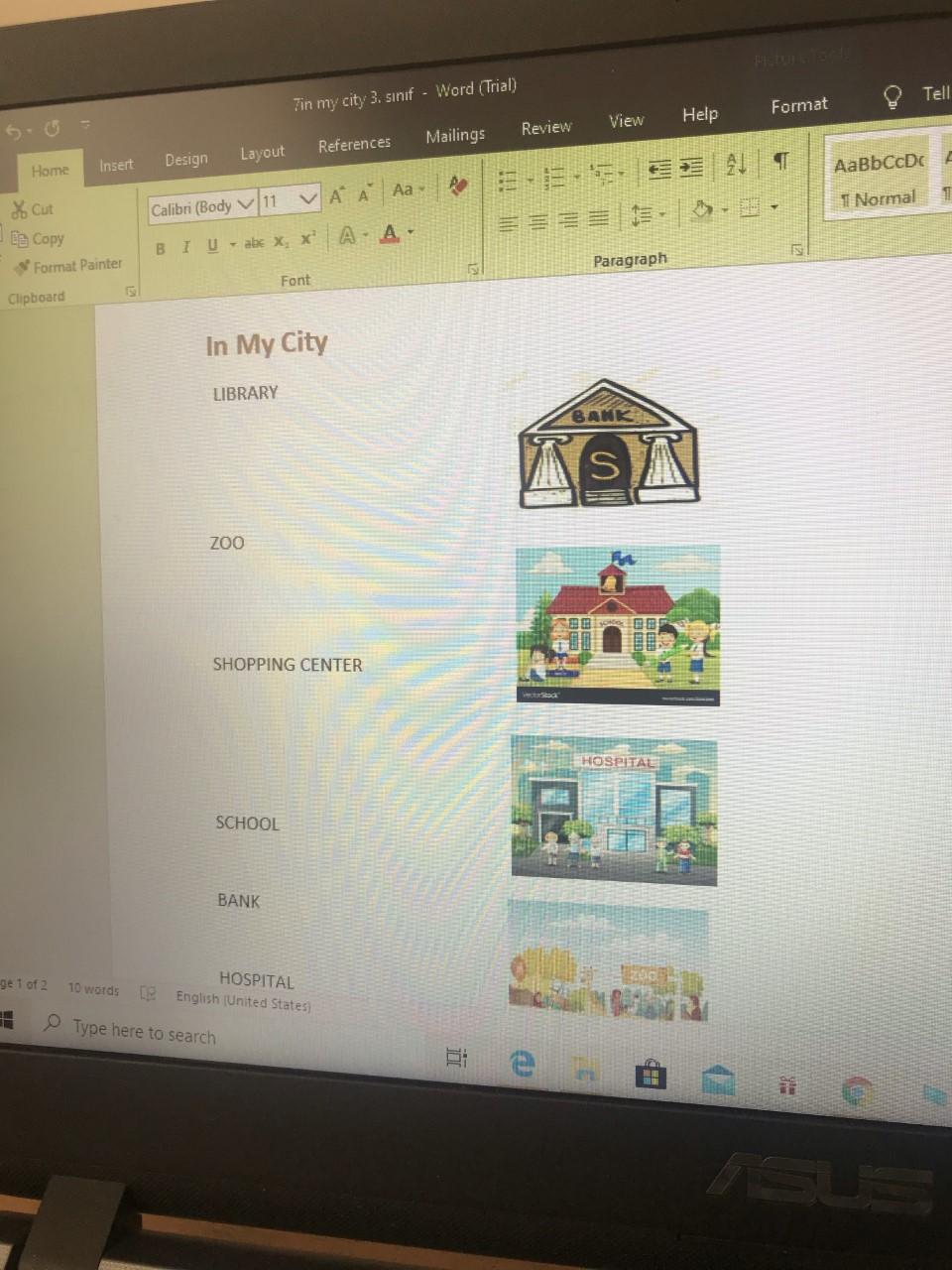 3. Sınıf İngilizce 7. Ünite Benim Şehrim(In my City)