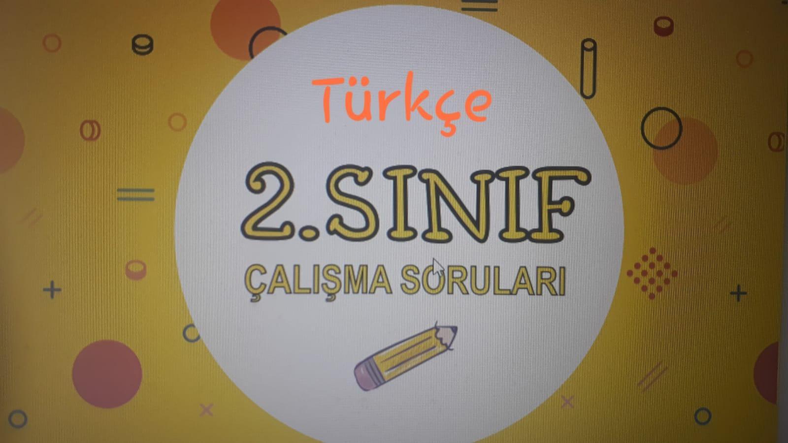 2.SINIF TÜRKÇE 1