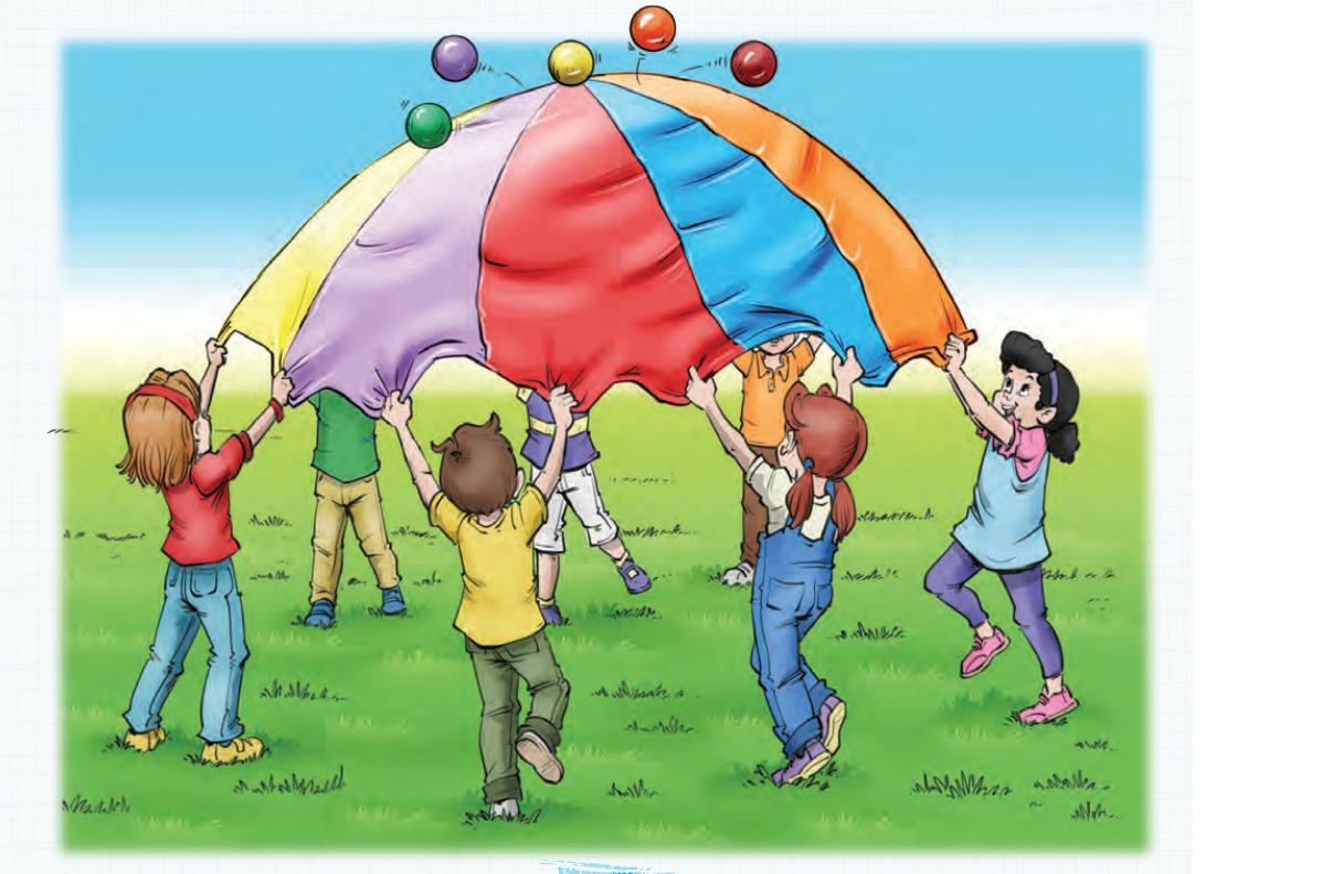 2.SINIF UZAKTAN EĞİTİM paraşütle oynamak