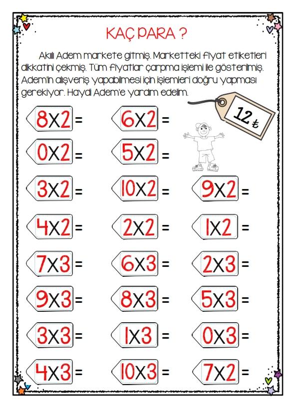 2.Sınıf Çarpma Öğreniyorum -5-