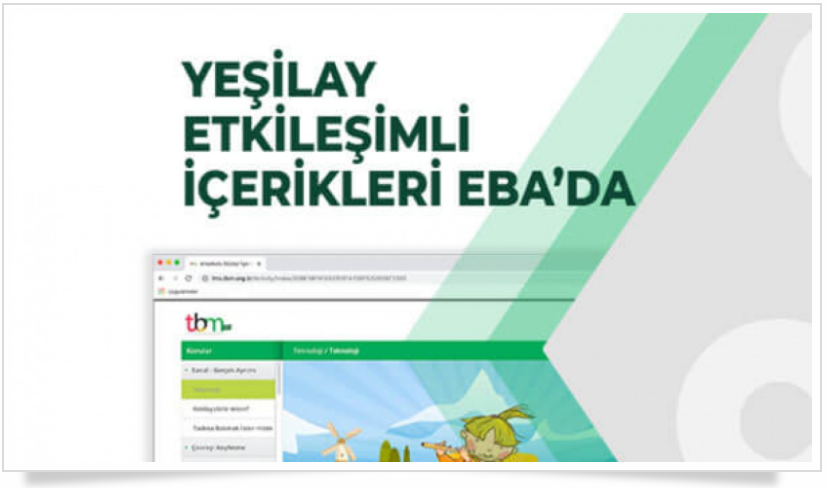 TBM Uzaktan Eğitim Sistemi (Yeşilay Etkileşimli İçerikler Eba'da)