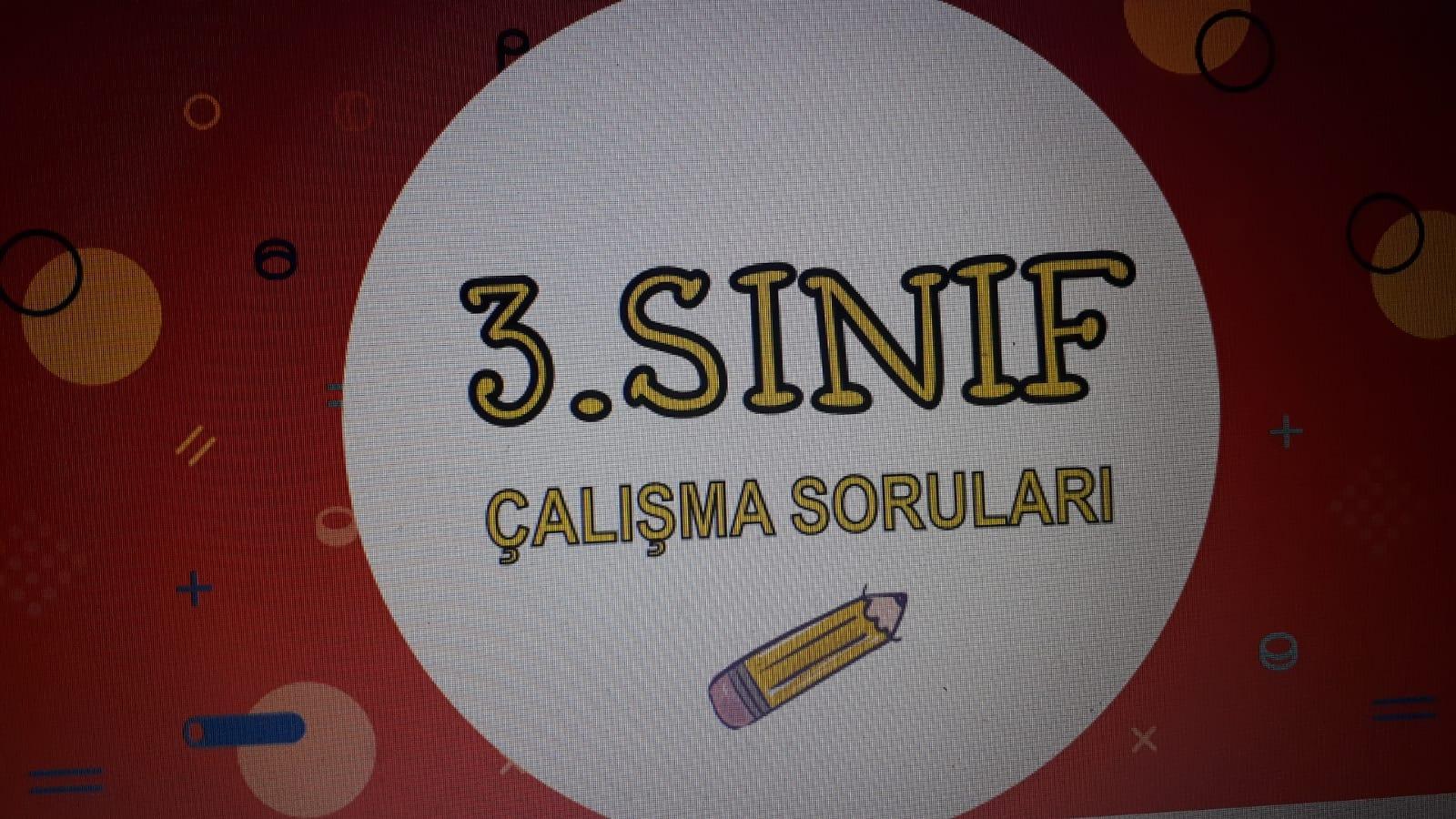 3.SINIF FEN BİLİMLERİ 3.ÜNİTE ONLİNE TEST ONLİNE TEST
