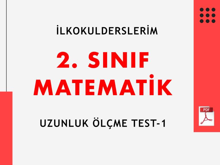 2. Sınıf Uzunluk Ölçme Test-1_PDF