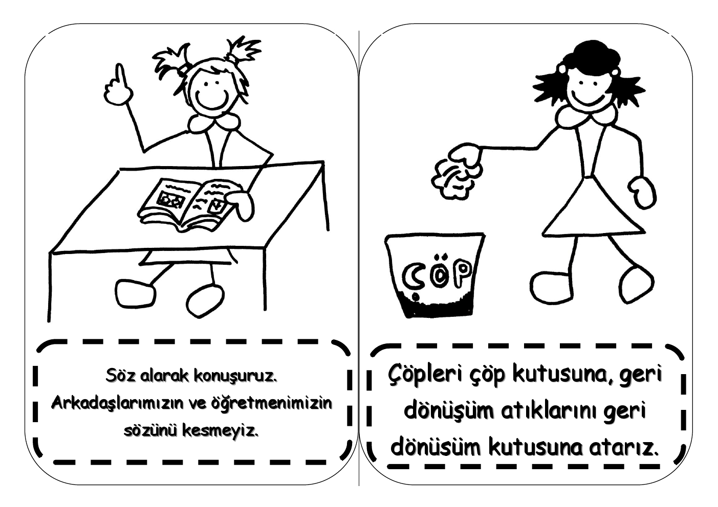 Çöp Adam Sınıf Kuralları