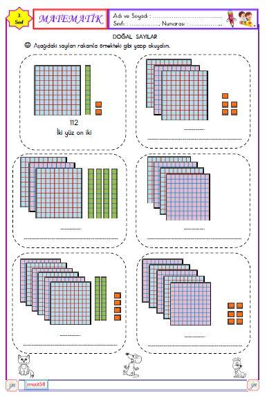 3.Sınıf Matematik - Doğal sayıları okuma ve yazma 4