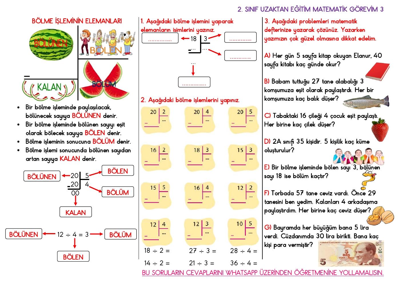 Uzaktan Eğitim Matematik Görevi 3