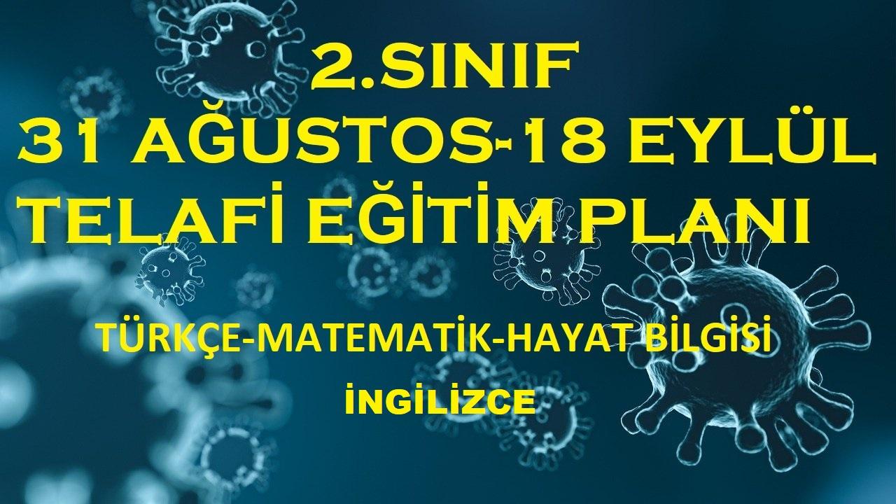 2.SINIF TELAFİ EĞİTİM PLANI