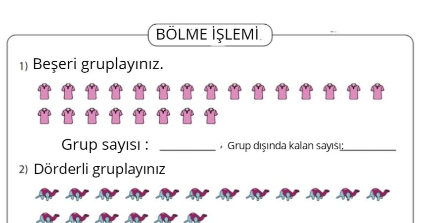 BÖLME İŞLEMİ ETKİNLİĞİ-8
