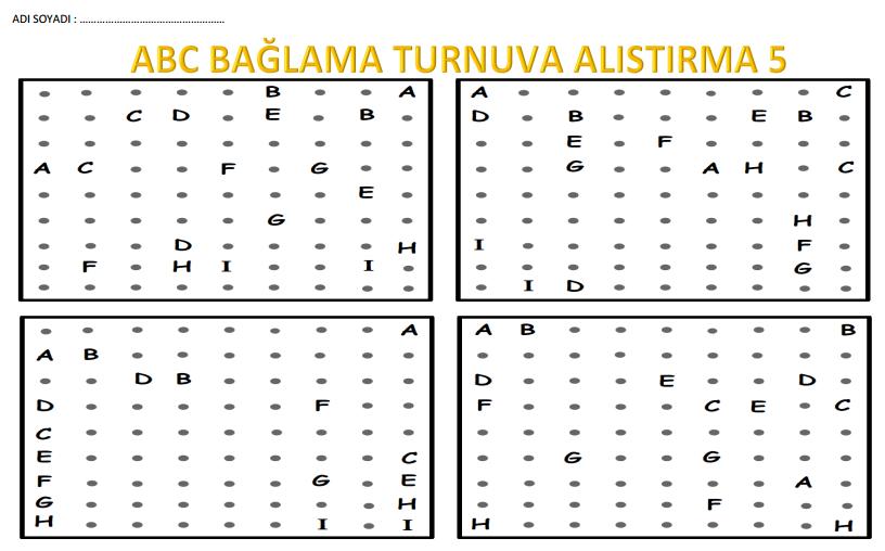 ABC BAĞLAMA TURNUVA ALIŞTIRMASI 5