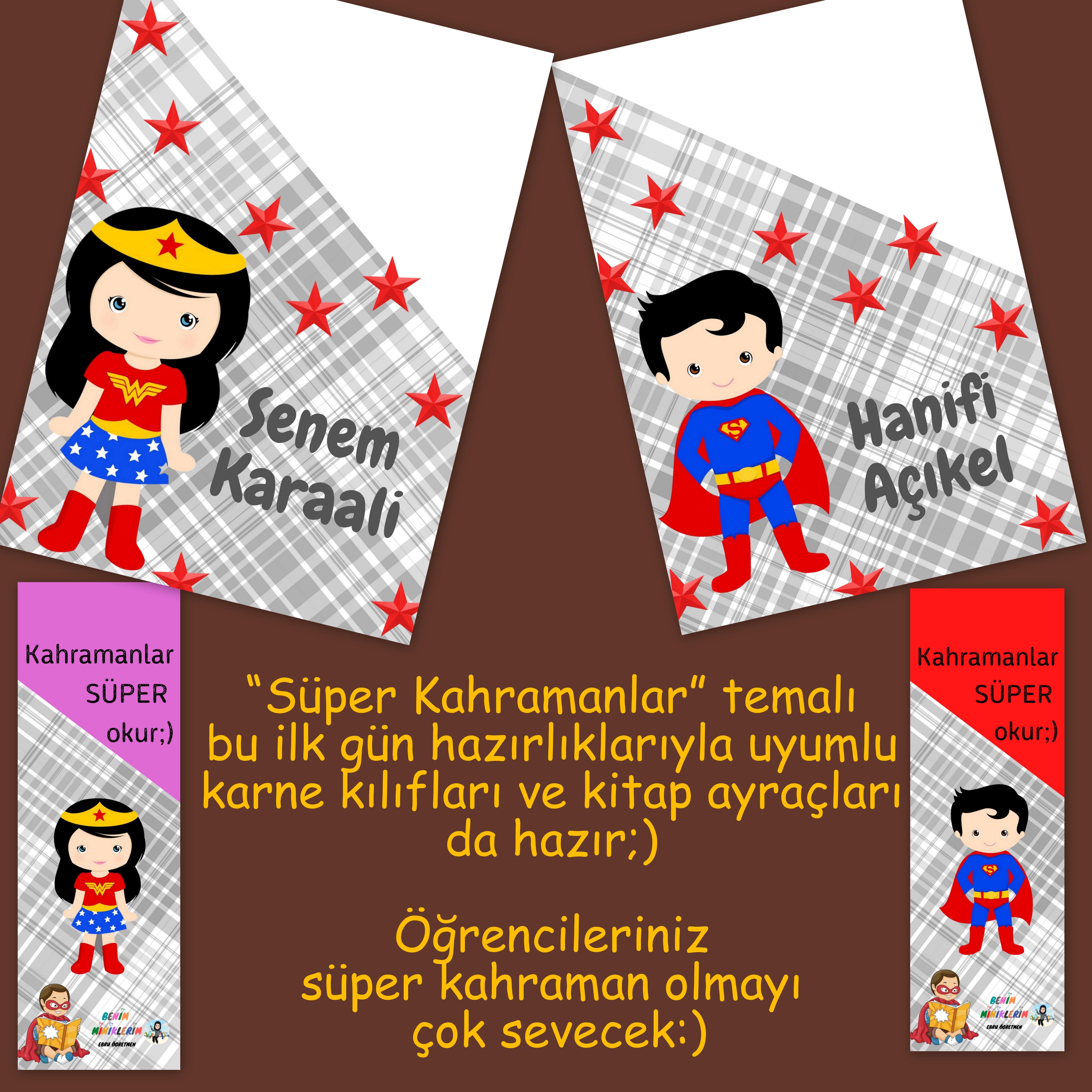 Süper Kahramanlar Temalı - İlk Gün Panosu 3 -