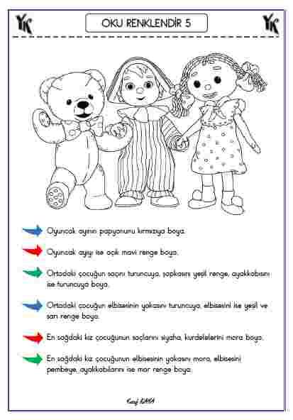 OKU RENKLENDİR 5