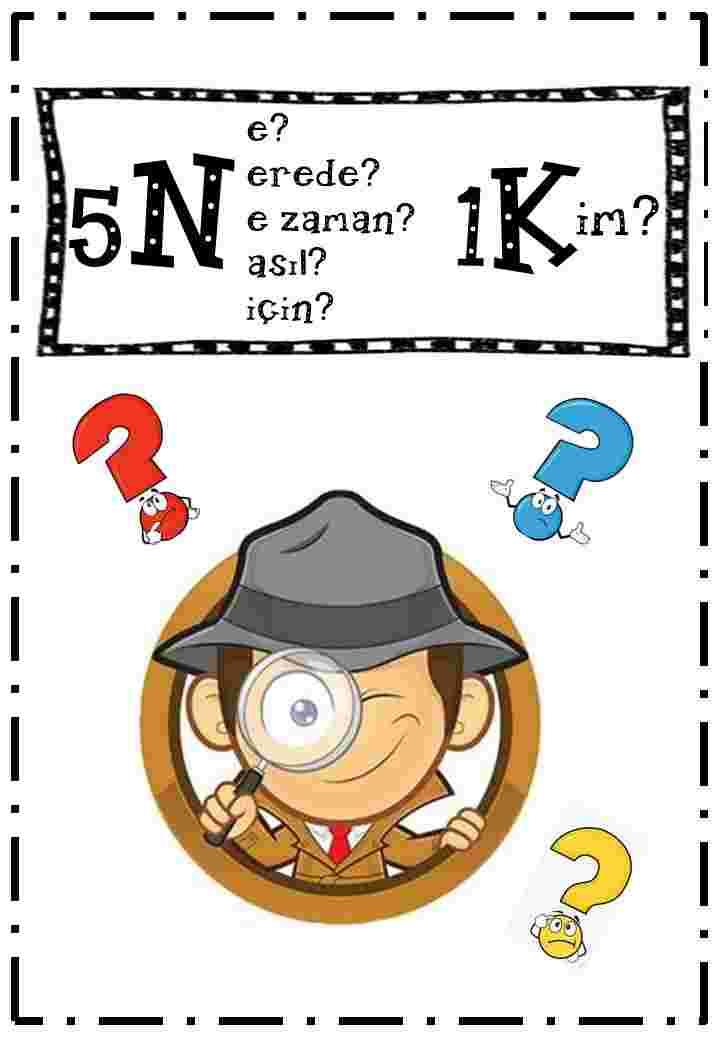 5N1K dedektif etkinliği