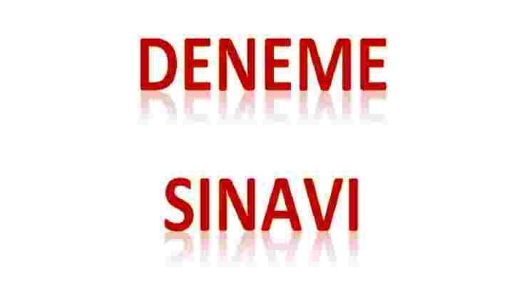 2.SINIF DENEME SINAVI 24 ONLİNE VE PDEF ÖZEL