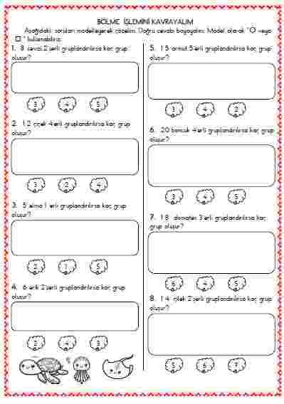 Matematik - Bölme işlemini kavrayalım 4