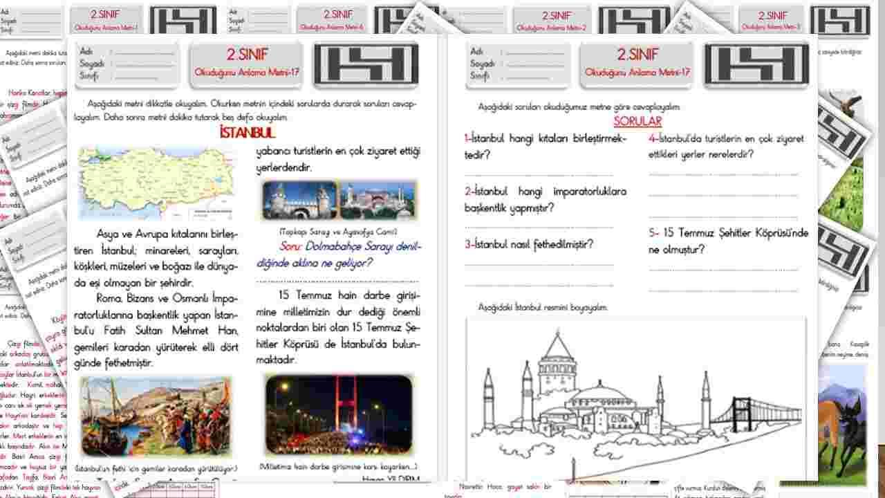 2.Sınıf Okuduğunu Anlama Metni-17 (İstanbul)