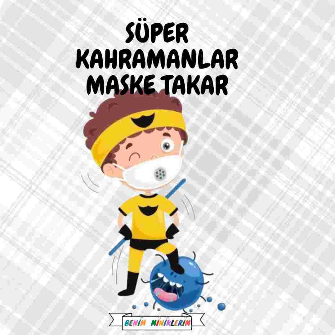 Süper Kahramanlar - Hediye Etiketleri - Erkek Çocuk