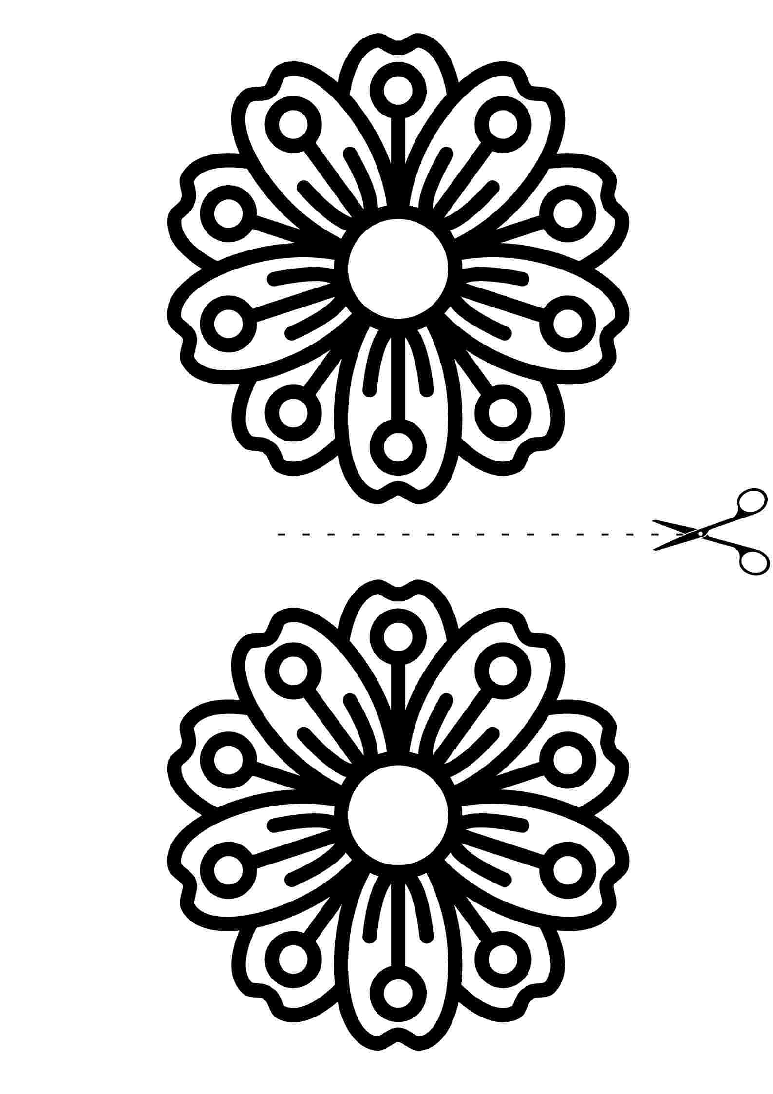 Kolay Çiçek Mandala 3
